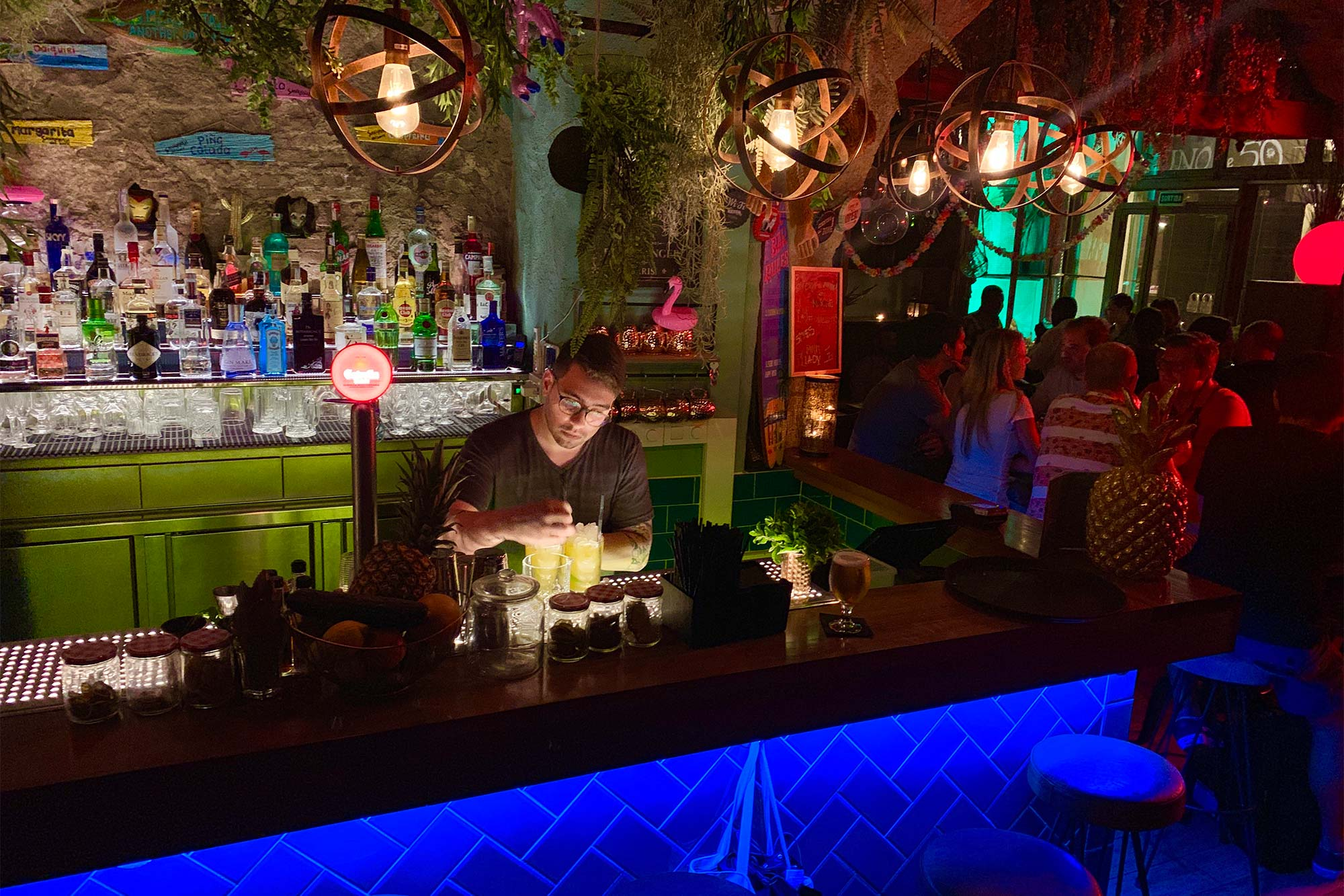 Barman en Savannah