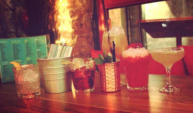 Variedad de cocktails
